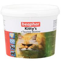 Фотография товара Витамины для кошек Beaphar Kitty's + Taurine-Biotine, 750 таб.