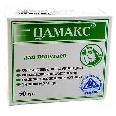 Подкормка для попугаев Цамакс, 50 г - Интернет зоомагазин MyPet-Online.ru