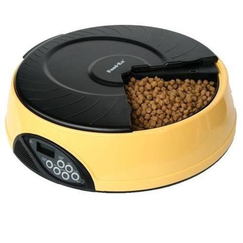 Автокормушка для собак и кошек Feed-Ex PF2Y, желтый