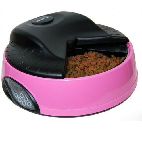 Автокормушка для собак и кошек Feed-Ex PF1P, розовый