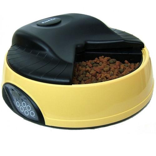 Автокормушка для собак и кошек Feed-Ex PF1Y, желтый