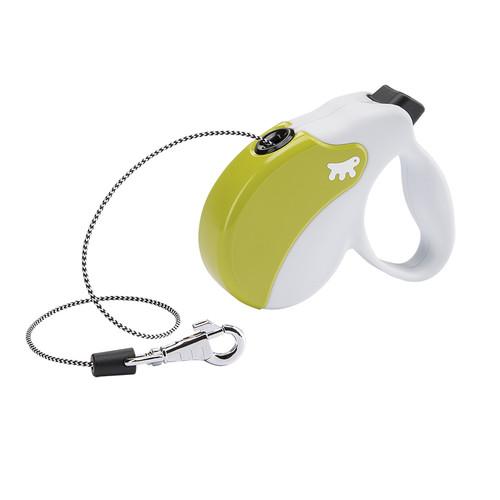 Поводок-рулетка для собак Ferplast Amigo Mini, бело-зеленый