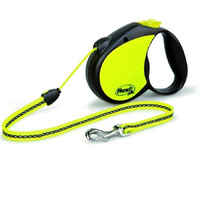 Фотография товара Поводок-рулетка для собак Flexi Neon Reflekt S