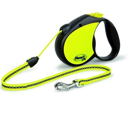 Поводок-рулетка для собак Flexi Neon Reflekt S