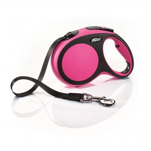 Поводок-рулетка для собак Flexi New Comfort L, розовый
