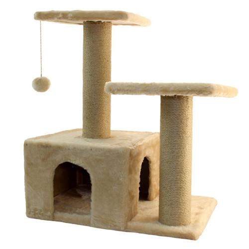 Игровой комплекс для кошек Гамма, размер 57х35х77см., цвета в ассортименте