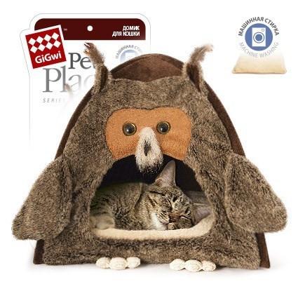 Домик для кошек GiGwi, размер 38x38x40см.
