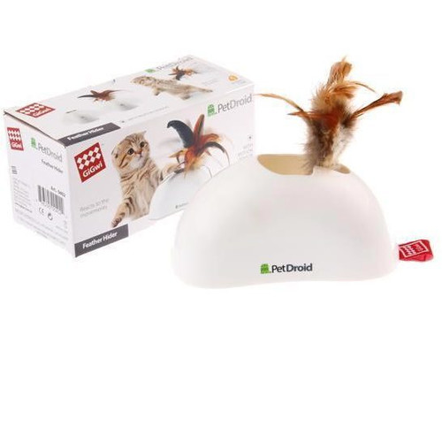 Игрушка для кошек GiGwi Pet Droid, размер 15х7.5х8см.