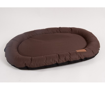 Лежак для собак Katsu Pontone Kasia XL, размер 117х86см., шоколад