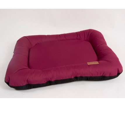 Лежак для собак Katsu Pontone Grazunka L, размер 88х73см., бордовый