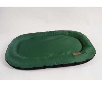 Лежак для собак Katsu Pontone Kasia M, размер 88х62х8см., зеленый