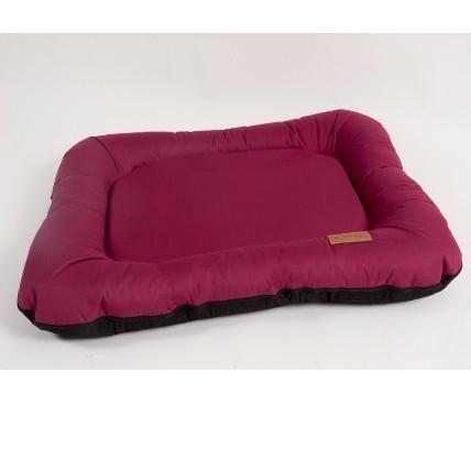 Лежак для собак Katsu Pontone Grazunka M, размер 86х58см., бордовый