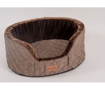 Лежанка для собак Katsu Studnia M, размер 80х60х30см., шоколадный