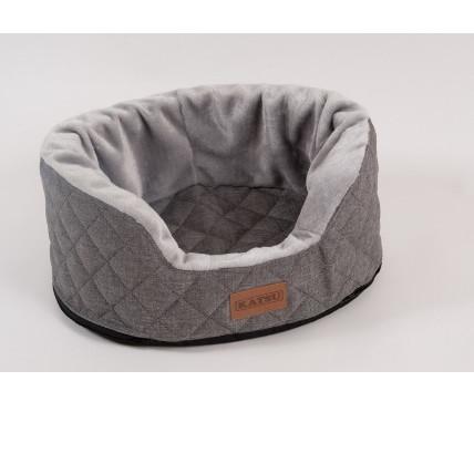 Лежанка для собак Katsu Studnia XL, размер 125х100х40см., серый