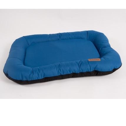 Лежак для собак Katsu Pontone Grazunka M, размер 86х58см., синий - Интернет зоомагазин MyPet-Online.ru