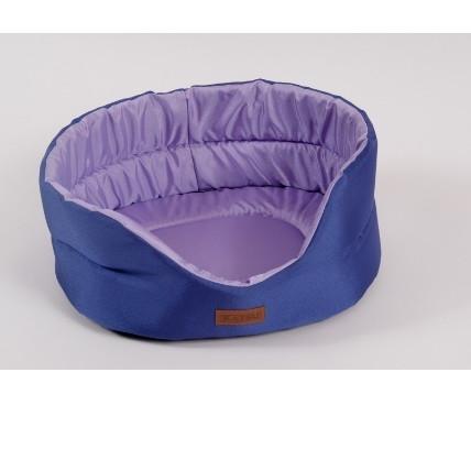 Лежак для собак Katsu Classic Shine  M, размер 52х46х19см., фиолетовый/лаванда