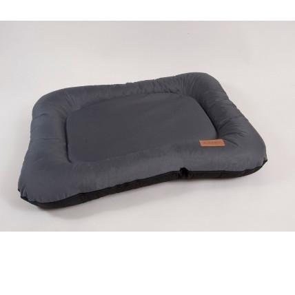 Лежак для собак Katsu Pontone Grazunka XL, размер 118х85х13см., серый