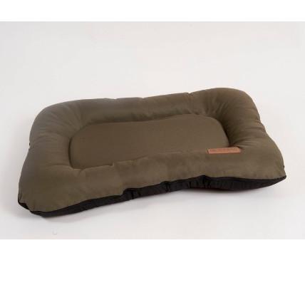 Лежак для собак Katsu Pontone Grazunka L, размер 88х73см., хаки