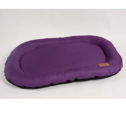 Лежак для собак Katsu Pontone Kasia S, размер 74х46х9см., фиолетовый