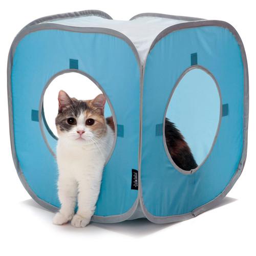 Домик для кошек Kitty City Kitty Play Cube, размер 38x38x38см.
