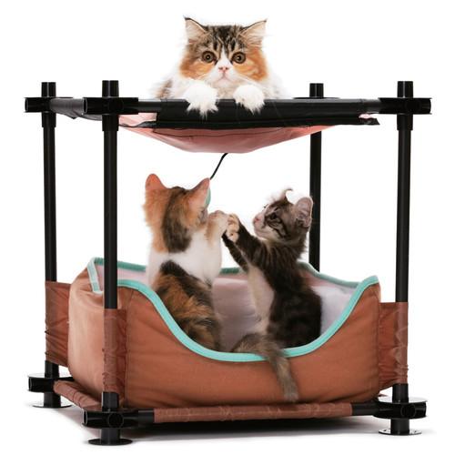 Лежак для кошек Kitty City Cozy Bed, размер 44х45х45см.