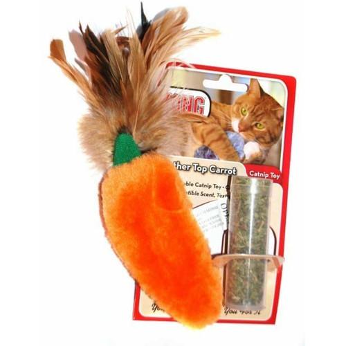 Игрушка для кошек Kong Морковь