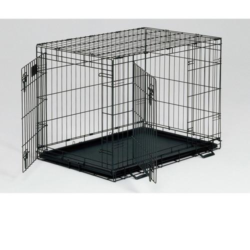 Клетка для собак Midwest Life Stages, размер 3, размер 91х61х69см., черный