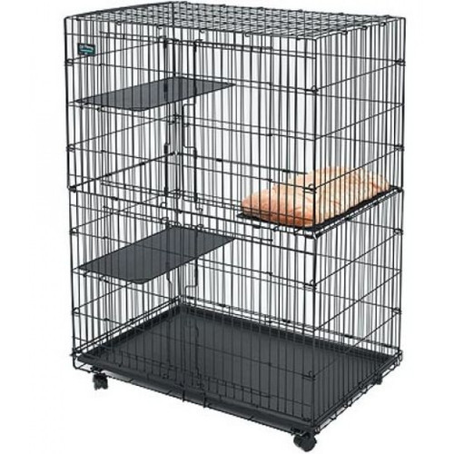 Клетка для кошек Midwest Cat PlayPens, размер 89.5 х 59 х 120.6см., черный