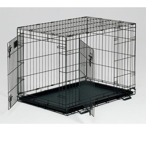 Клетка для собак Midwest Life Stages, размер 2, размер 76х53х61см., черный