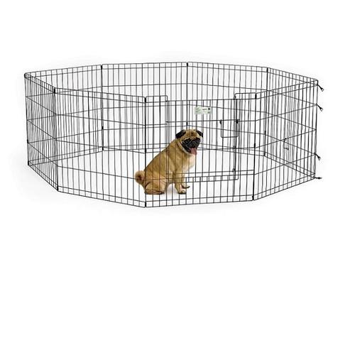 Вольер для собак Midwest Life Stages, размер 1, размер 61х61см., черный