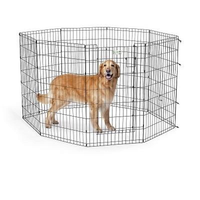 Вольер для собак Midwest Life Stages, размер 2, размер 61х107см., черный