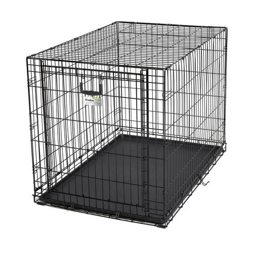 Клетка для собак Midwest Ovation, размер 3, размер 111х72х77см., черный