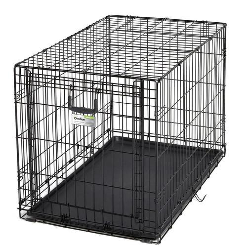 Клетка для собак Midwest Ovation, размер 2, размер 94.6х58.4х63.5см., черный