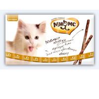 Фотография товара Лакомство для кошек Мнямс Лакомые палочки, 70 г, размер 13.5см., 10 шт.