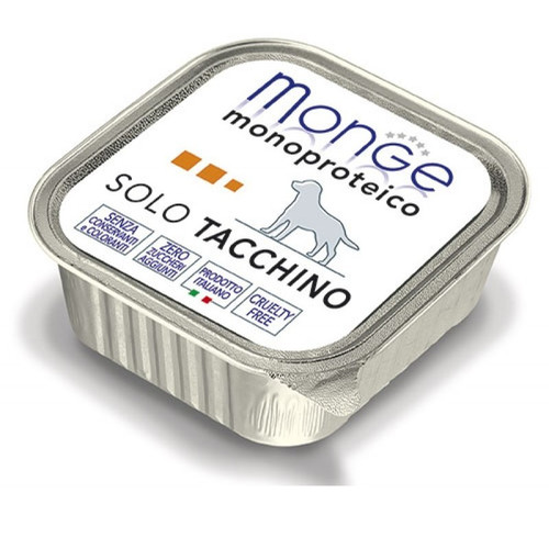 Корм для собак Monge Solo Tacchino, 150 г, индейка