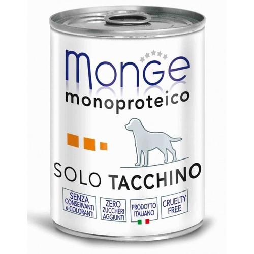 Корм для собак Monge Solo Tacchino, 400 г, индейка