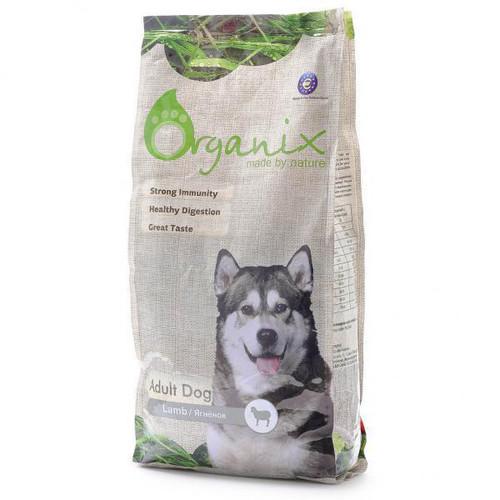 Корм для собак Organix Adult Dog Lamb, 12 кг, ягненок