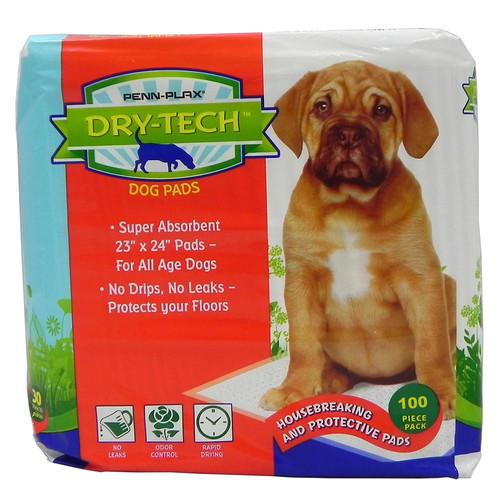 Пеленки для животных Penn-plax Dry Tech Pads, размер 58х61см., 100шт.