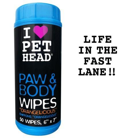 Салфетки для собак и кошек Pet Head Цитрусовый бум