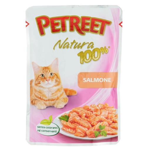 Корм для кошек Petreet Natura, 85 г, лосось