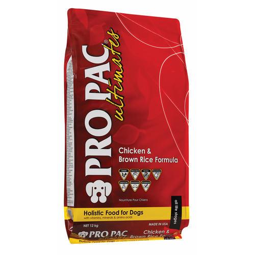 Корм для собак Pro Pac Ultimates, 20 кг, курица и коричневый рис