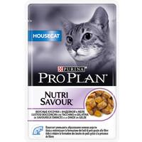 Фотография товара Корм для кошек Pro Plan Nutrisavour Housecat, 85 г, индейка