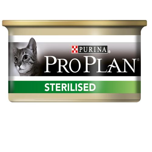 Корм для кошек Pro Plan Sterilised, 85 г, лосось и тунец