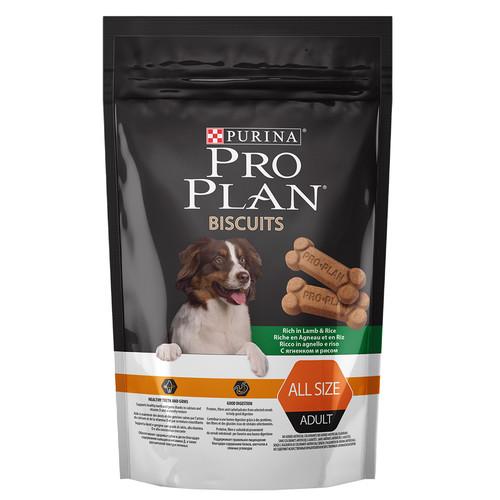 Лакомства для собак Pro Plan Biscuits, 400 г, ягненок с рисом