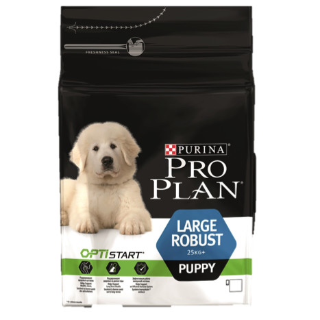 Корм для щенков Pro Plan Puppy Large Robust, 12 кг, курица