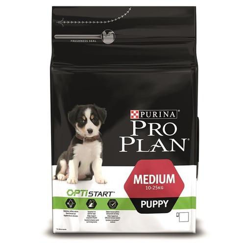 Корм для щенков Pro Plan Medium Puppy, 12 кг, курица с рисом