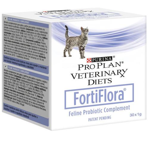 Кормовая добавка для кошек Purina Pro Plan Veterinary Diets FortiFlora, 1 г, 30 шт.