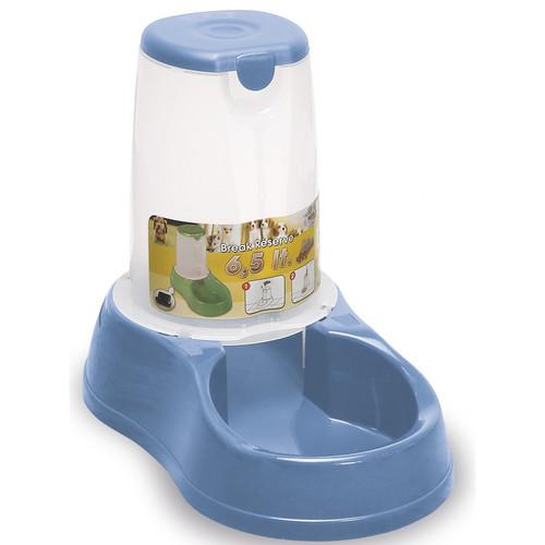 Автокормушка для собак и кошек Stefanplast Break Reserve Food, голубой