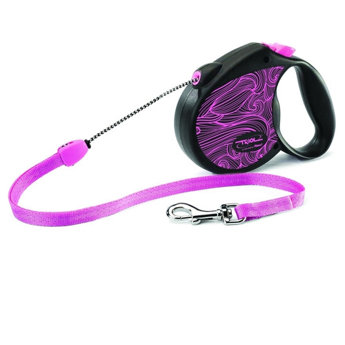 Поводок-рулетка для собак Triol by Flexi Colour Pink S