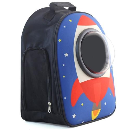 Рюкзак для животных Triol Ракета, размер 45х32х23см.